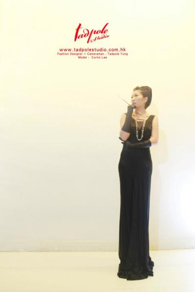 Black color Mermaid Celebrity Dresses